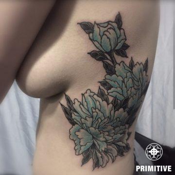 flowers rib