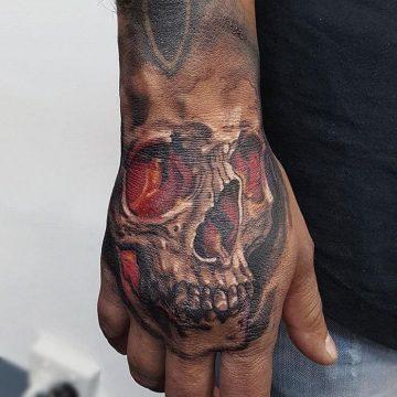 skull hand jacob Primitive tattoo, Best tattoos Perth, Ink, Tattoos Perth, Artist in Perth, Tattoo design, Japanese tattoo, watercolour tattoo, Koi tattoo, Geometric tattoo, Mandala tattoo,